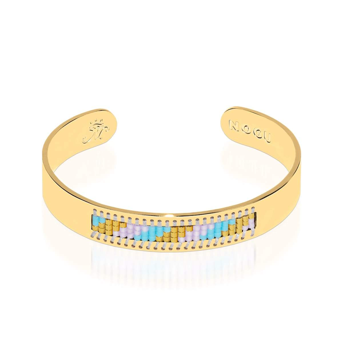 Laguna Niguel | 18k Gold | Boho Bangle