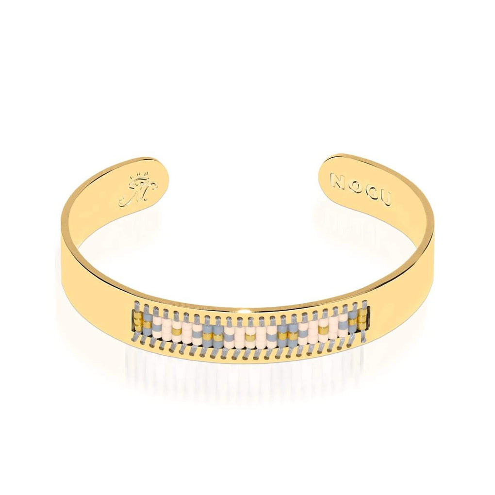 Monterey | 18k Gold | Boho Bangle