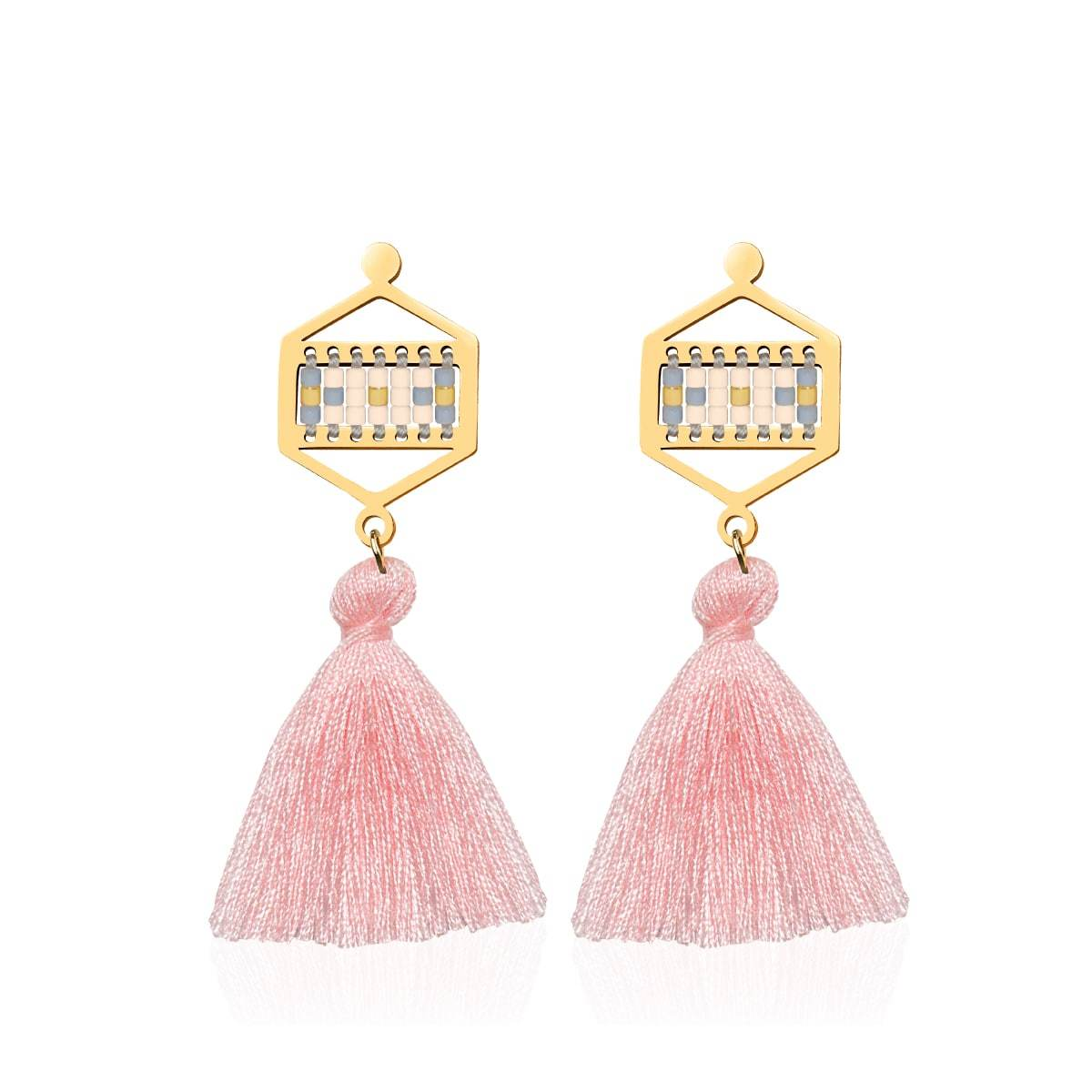 Monterey | 18k Gold | Boho Fringe Earrings