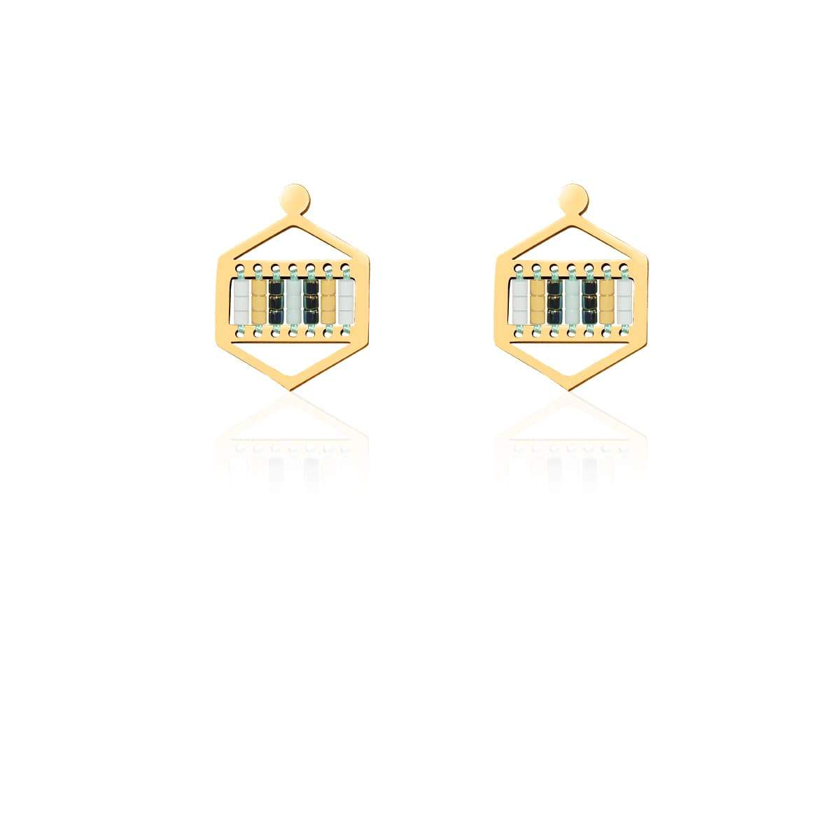 Hidden Hills | 18k Gold | Boho Earrings