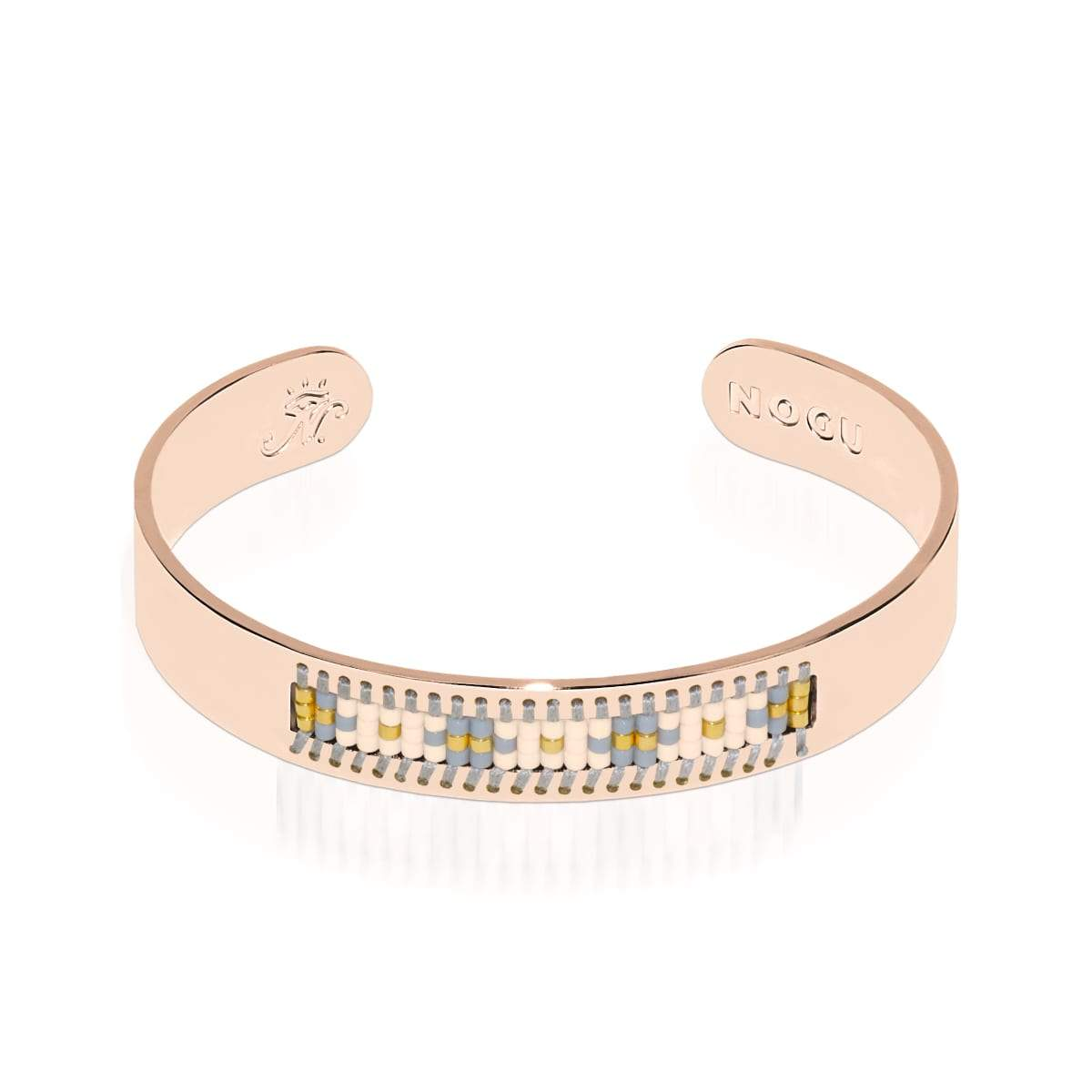 Monterey | 18k Rose Gold | Boho Bangle