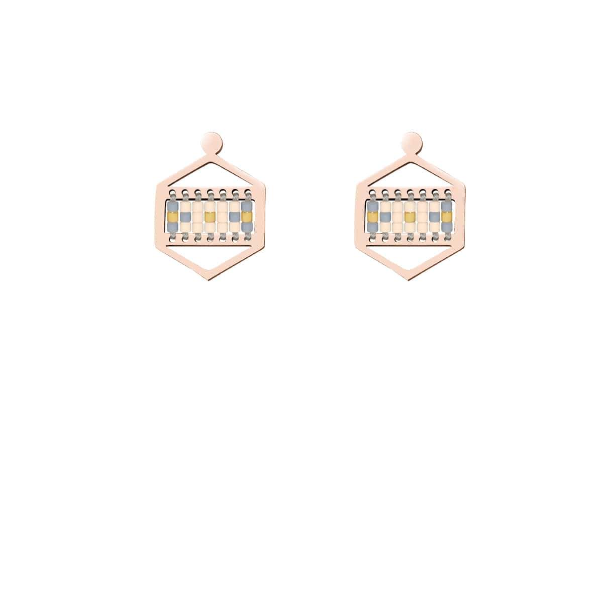 Monterey | 18k Rose Gold | Boho Earrings