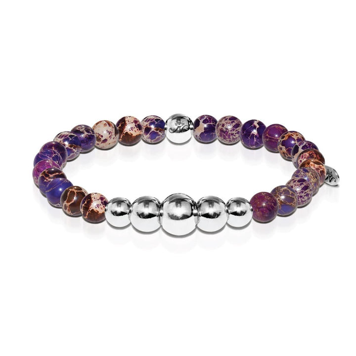 Imaginative | Silver Aura Purple Regarte Bracelet
