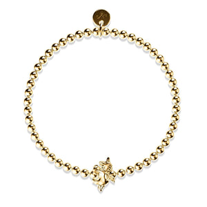 Pegasus | 18k Gold | Winged Unicorn Charm Bracelet
