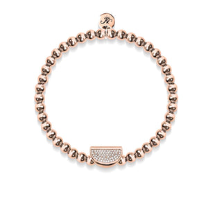 Juicy | 18k Rose Gold | Crystal Melon