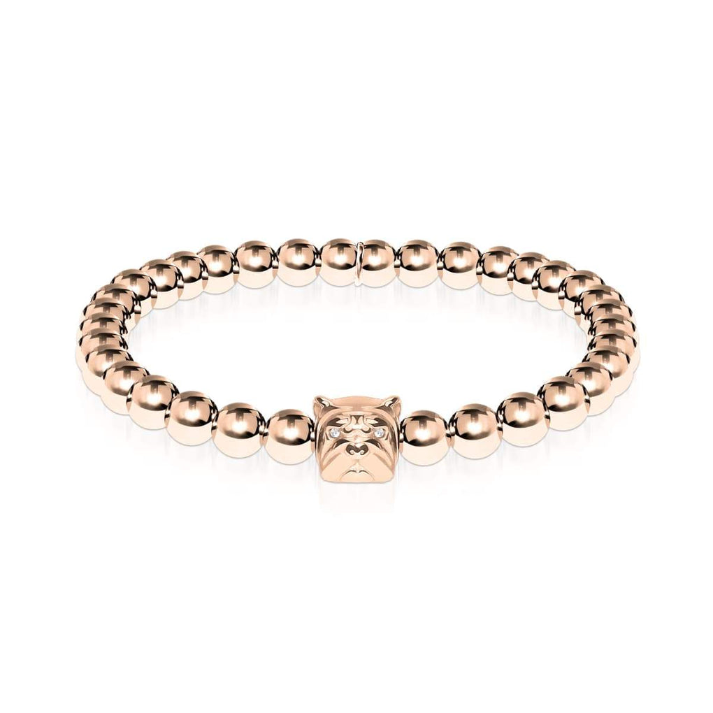 Bestie | 18k Rose Gold | Crystal Pup