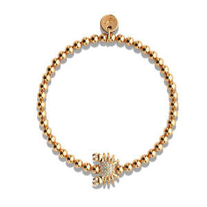 Tropic of Cancer | 18k Rose Gold | Crystal Sea Crab