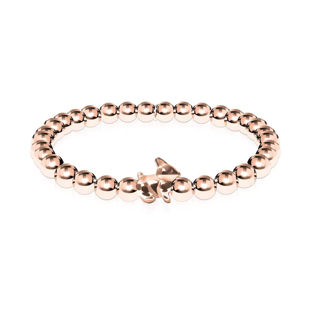 Bunny | 18k Rose Gold | Rabbit Charm Bracelet