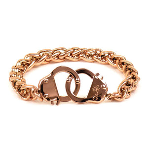 18k Rose Gold | Chain Cuff Bracelet