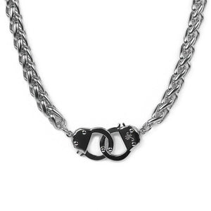 Silver | Chain Cuff Necklace
