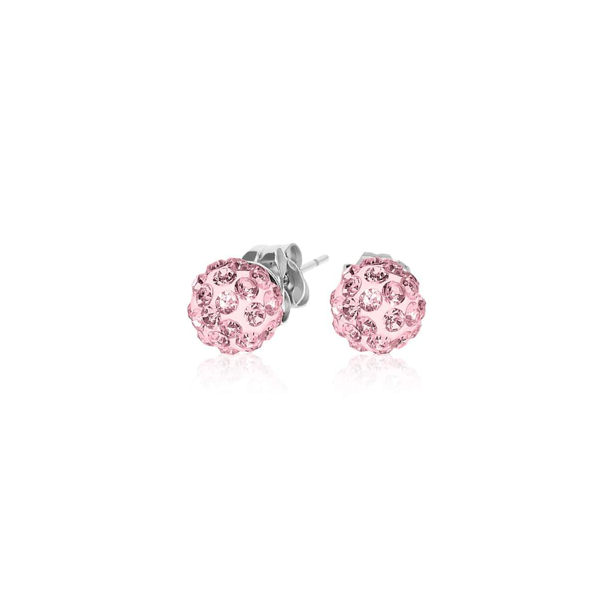 Crystal Kikiballa | Pink | Earrings