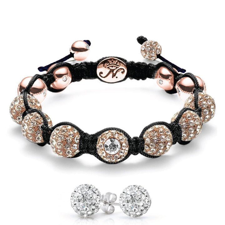 The Kikiballa | Rose Gold Black | Gift Set