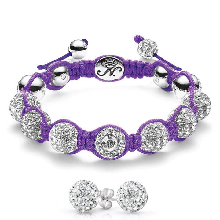 The Kikiballa | Silver Purple | Gift Set