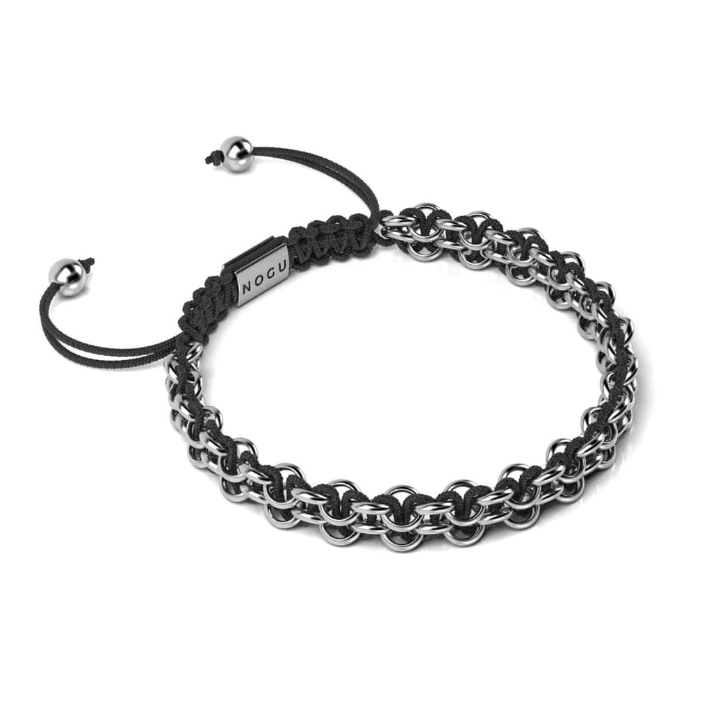 Supreme Kismet Links Bracelet | Silver | Black | Thin