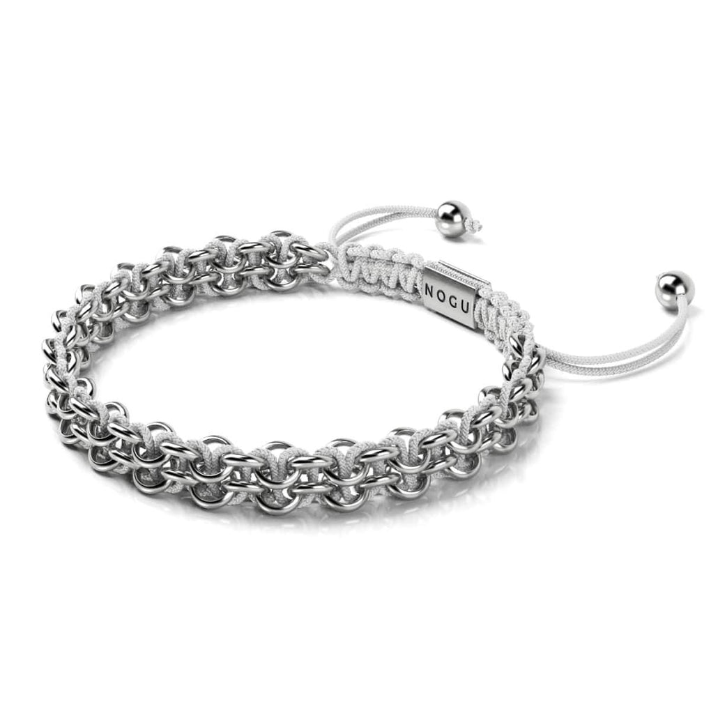 Supreme Kismet Links Bracelet | Silver | White | Thin