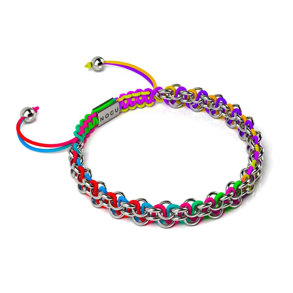 Kismet Links | Cause Bracelet | Silver | Rainbow