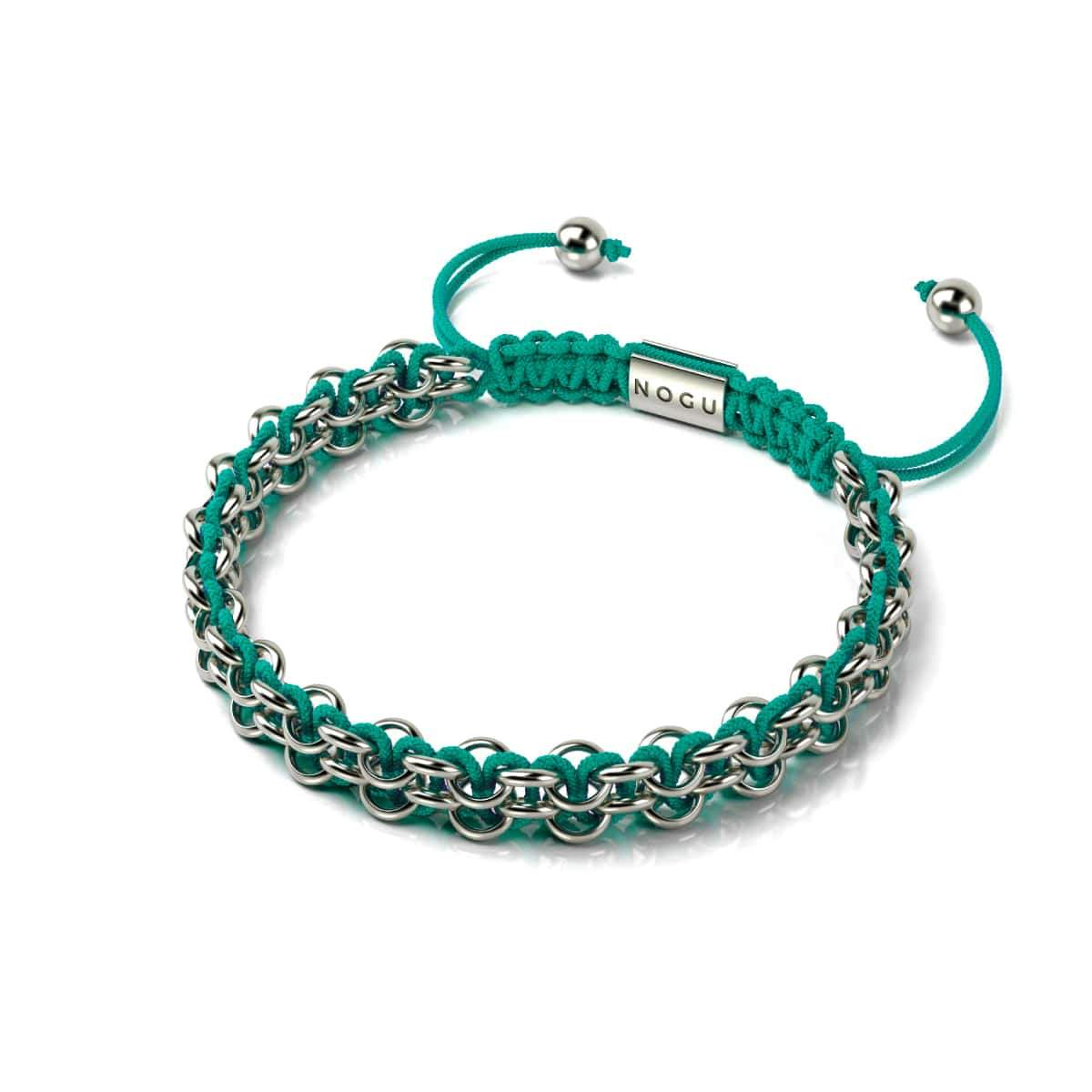 Kismet Links | Cause Bracelet | Silver | Teal