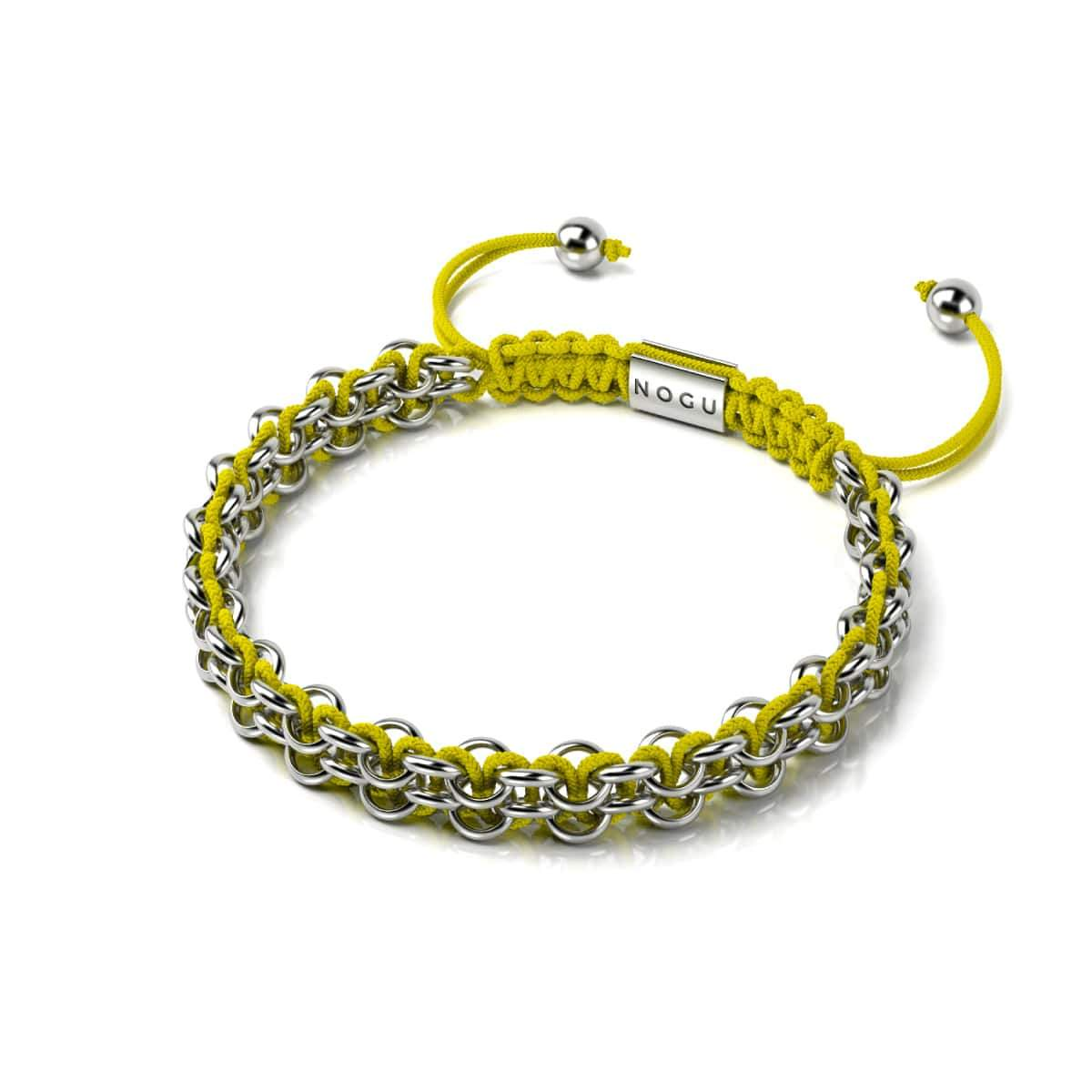 Kismet Links | Cause Bracelet | Silver | Yellow