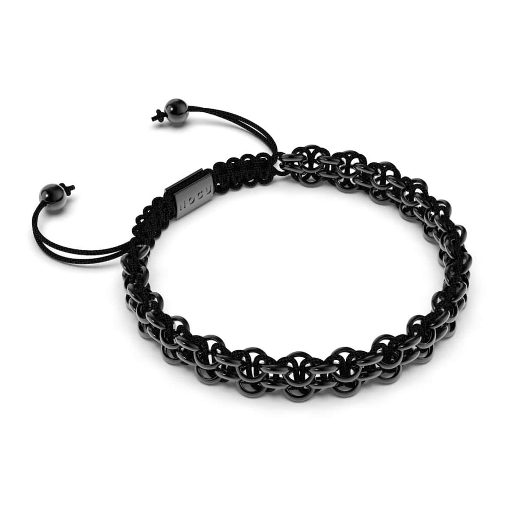 Supreme Kismet Links Bracelet | Gunmetal | Black | Thin