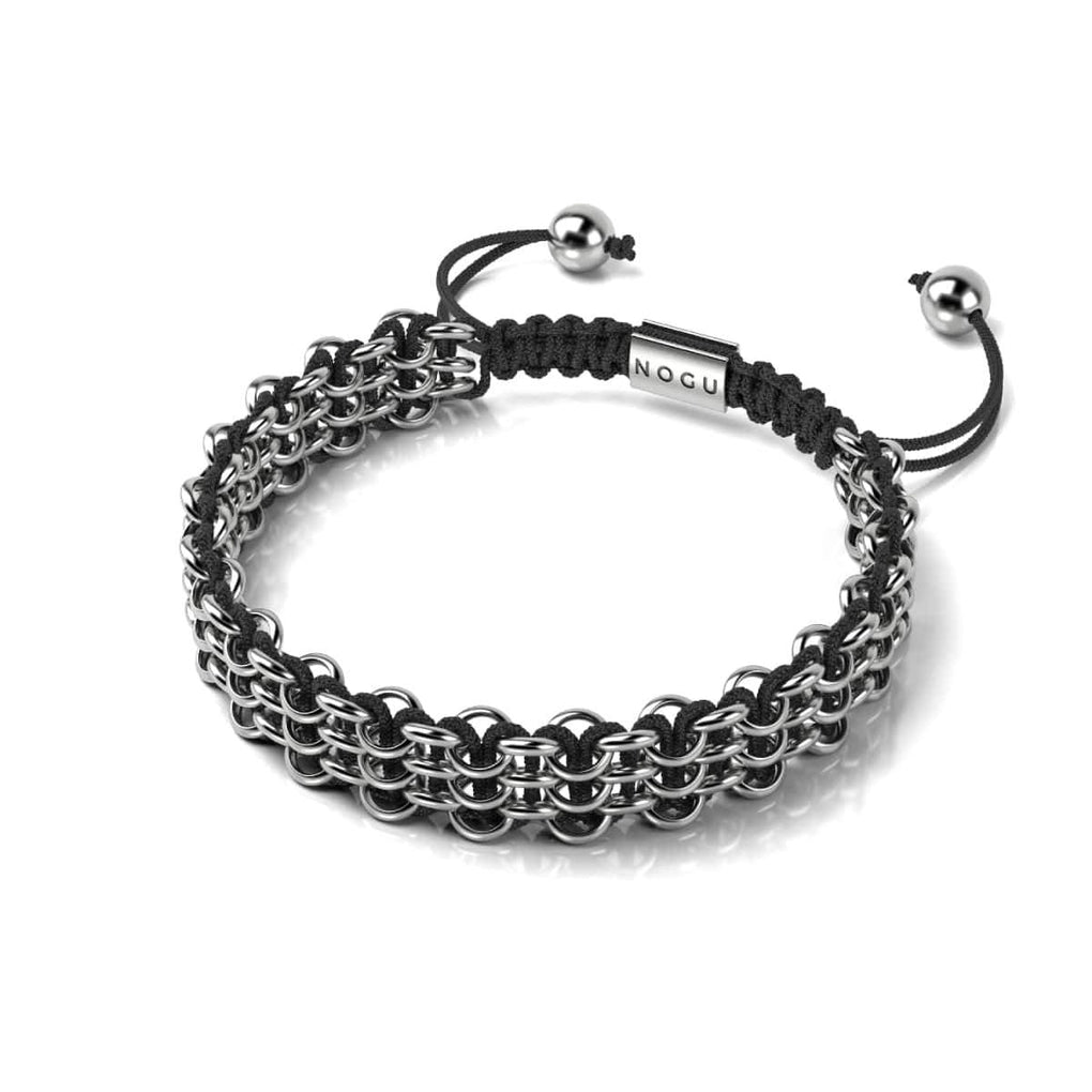 Supreme Kismet Links Bracelet | Silver | Black