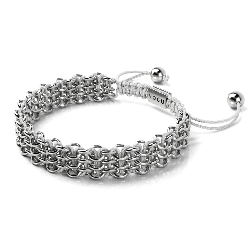 Supreme Kismet Links Bracelet | Silver | White