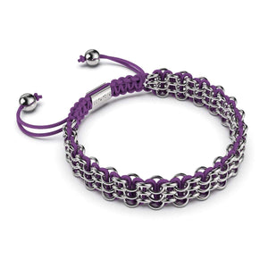 Supreme Kismet Links Bracelet | Silver | Purple