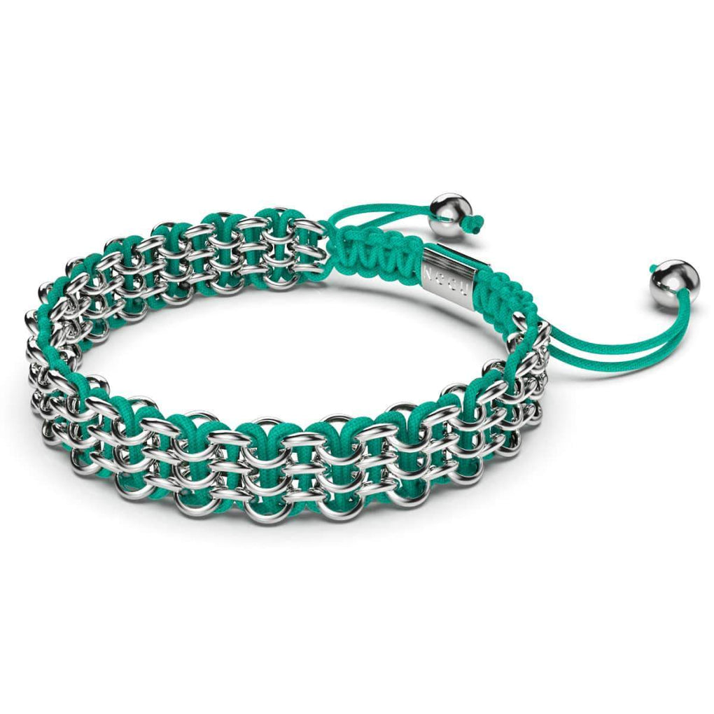 Supreme Kismet Links Bracelet | Silver | Teal