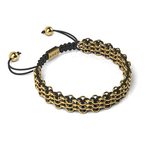 Supreme Kismet Links Bracelet | 18k Gold | Black