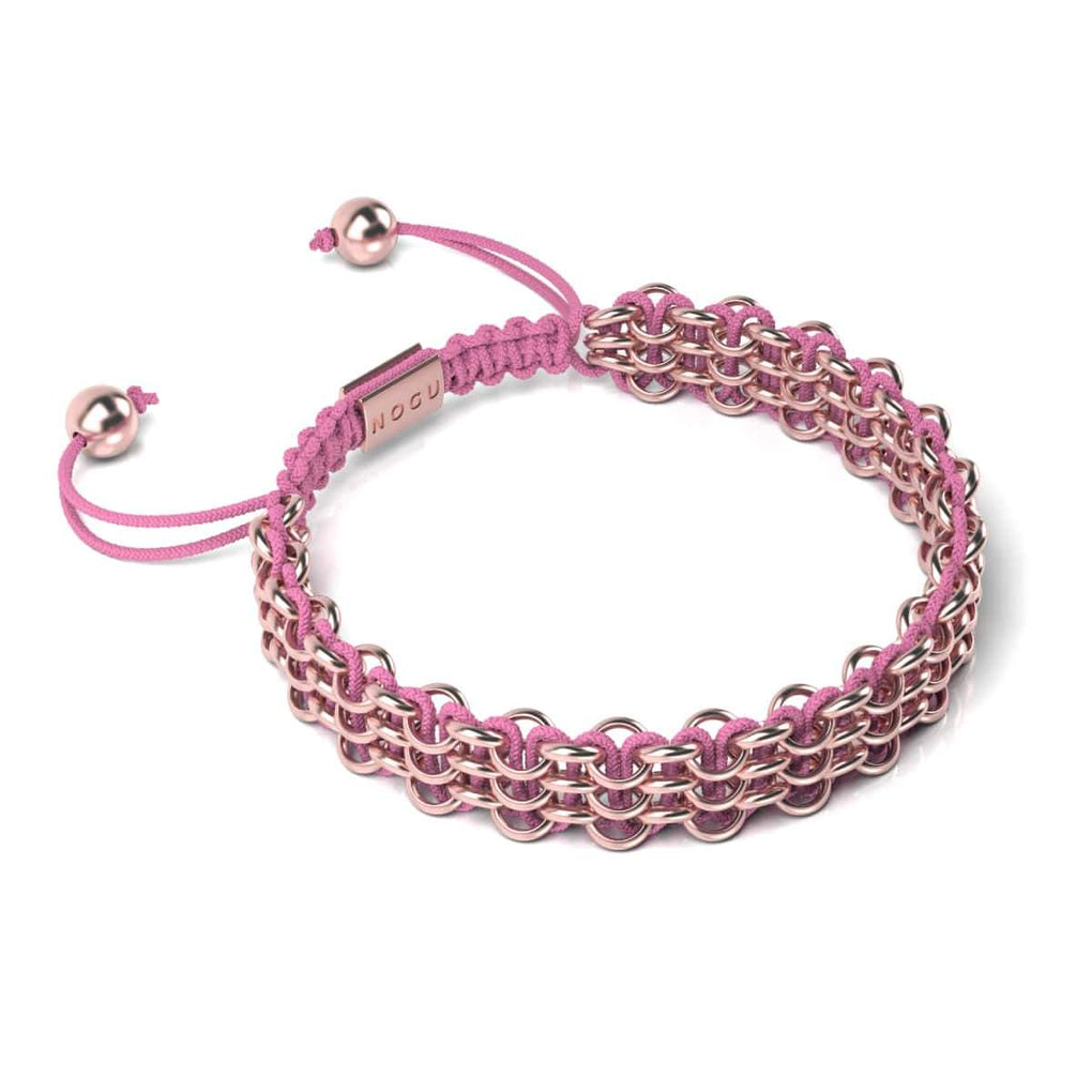 Supreme Kismet Links Bracelet | 18k Rose Gold | Pink
