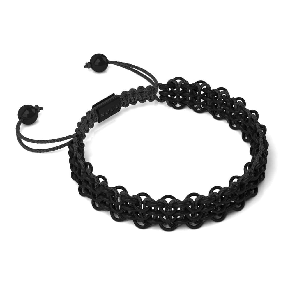 Supreme Kismet Links Bracelet | Gunmetal | Black