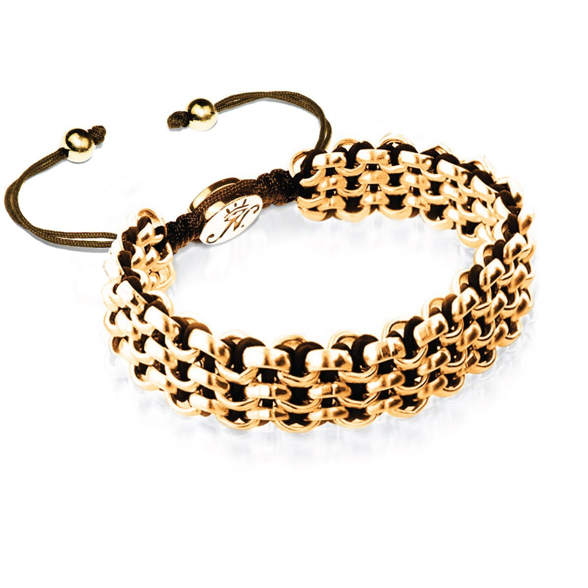 Gold Kismet Links Bracelet | Cocoa