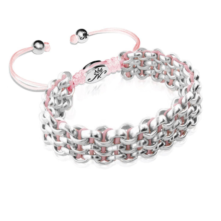 Silver Kismet Links Bracelet | Strawberry