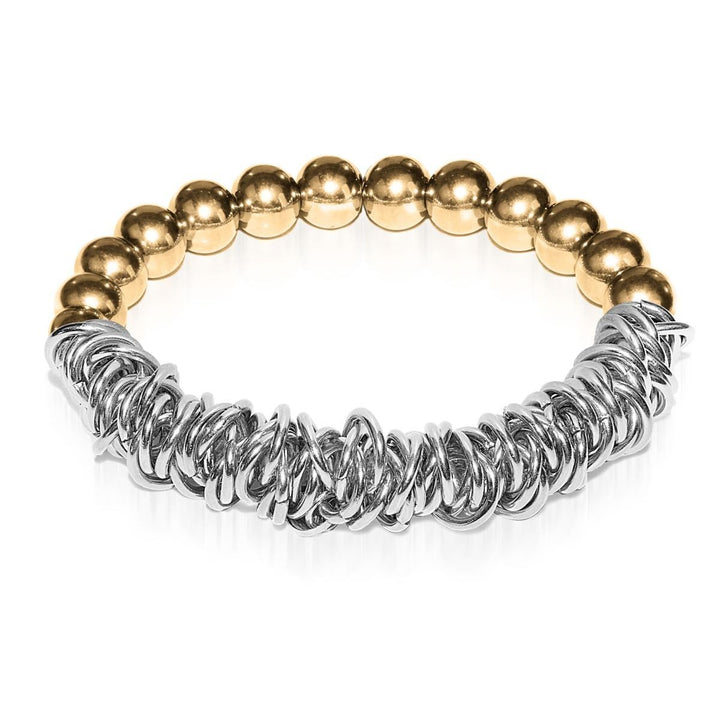 18k Gold | Silver | Links of Love Bracelet
