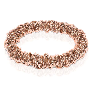 18k Rose Gold | Links of Love Bracelet