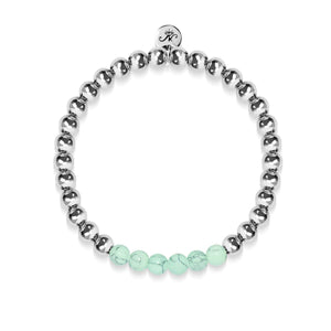 Proud | Silver | Green Turquoise | Expression Bracelet