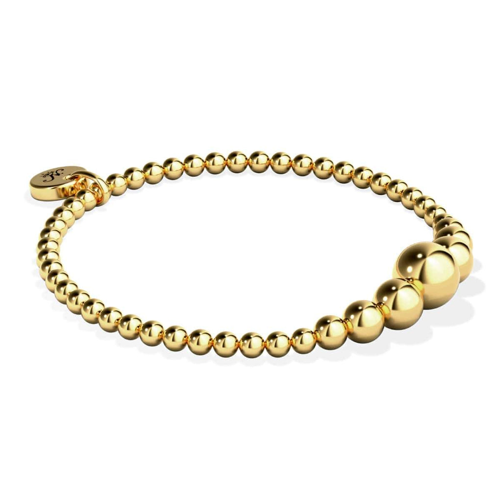 Enchanting | 18k Gold Cascade | Expression Bracelet