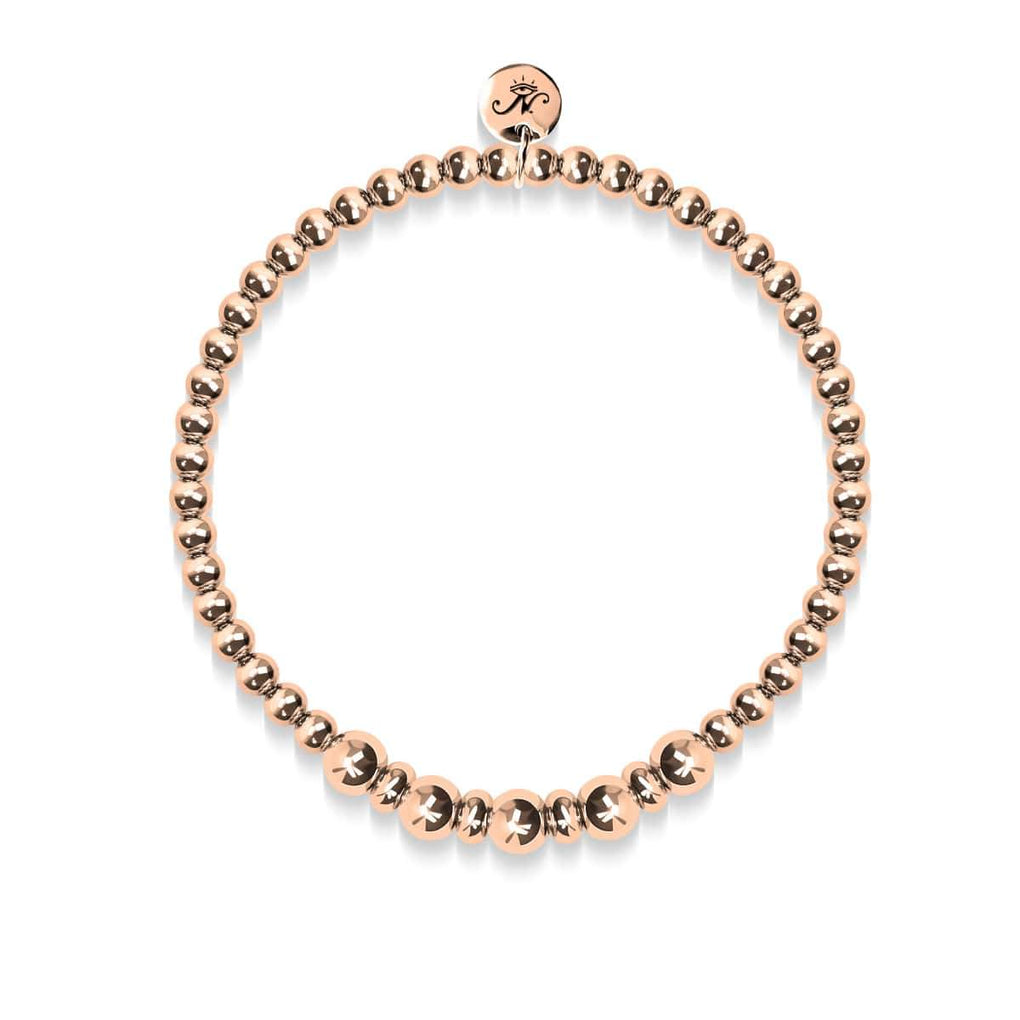 Charming | 18k Rose Gold | Expression Bracelet