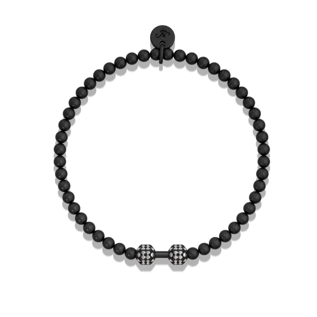 Pump | Gunmetal | Crystal Fitness Bracelet
