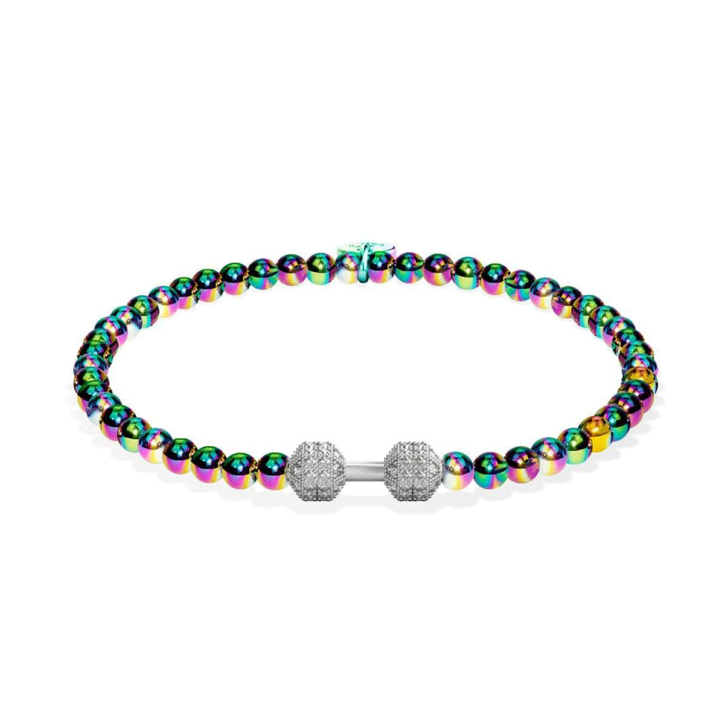 Pump | Unicorn Silver | Crystal Fitness Bracelet
