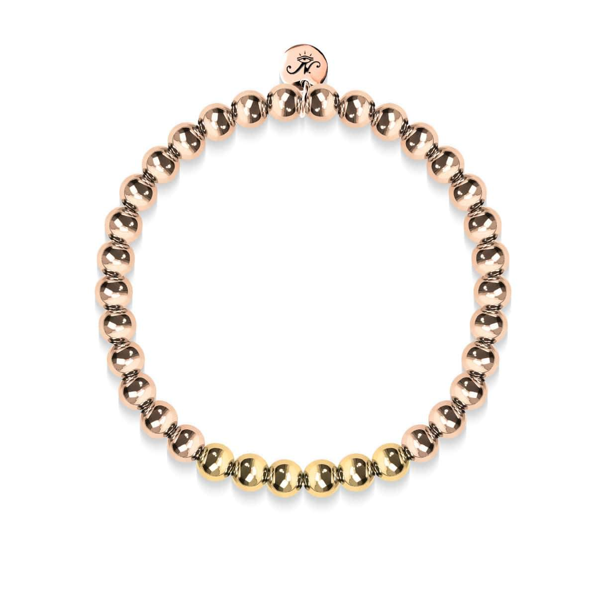 Radiant | 18k Rose Gold | 18k Gold | Expression Bracelet