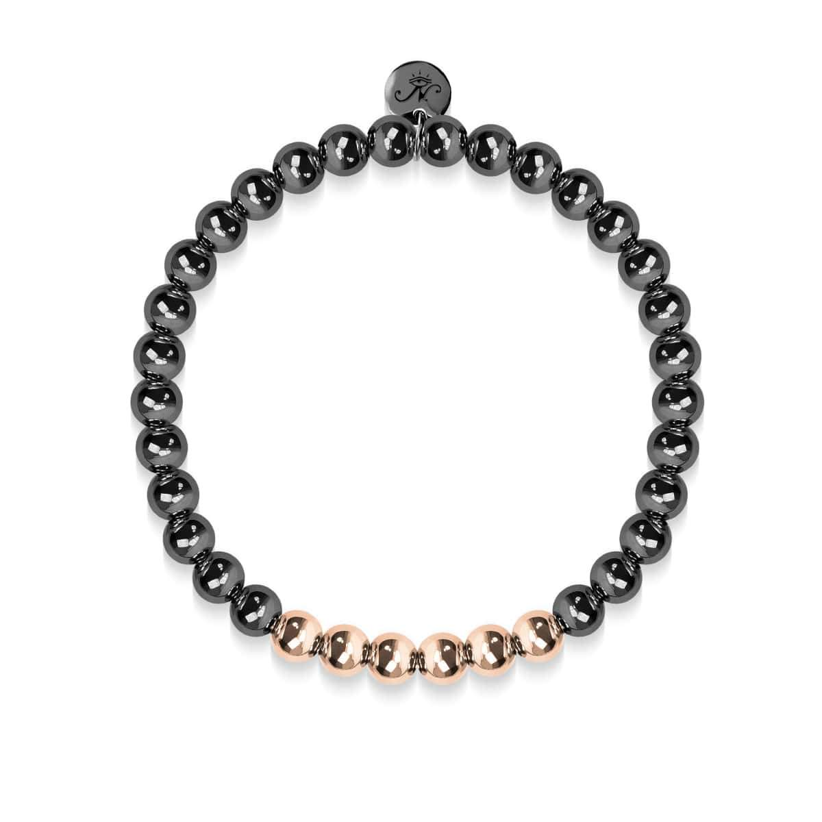 Illuminated | Gunmetal | 18k Rose Gold | Expression Bracelet