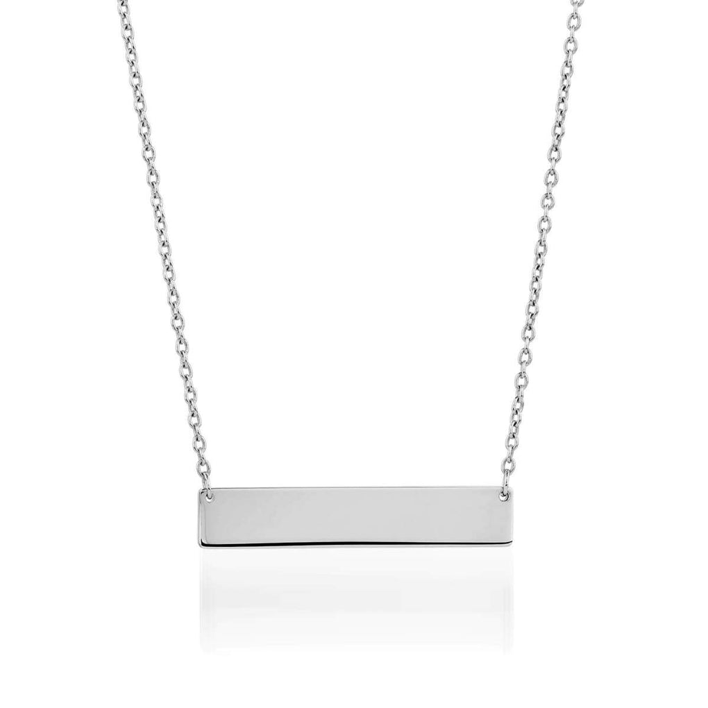 Minimalist Bar | Silver | Necklace