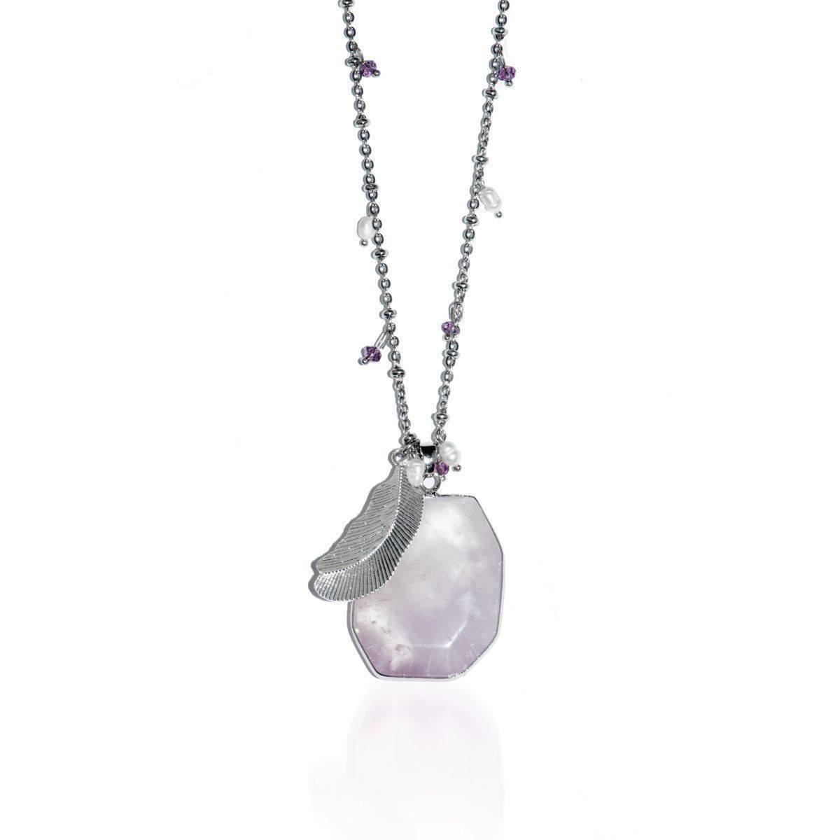 Energy Boost | Light Amethyst Pendant Necklace