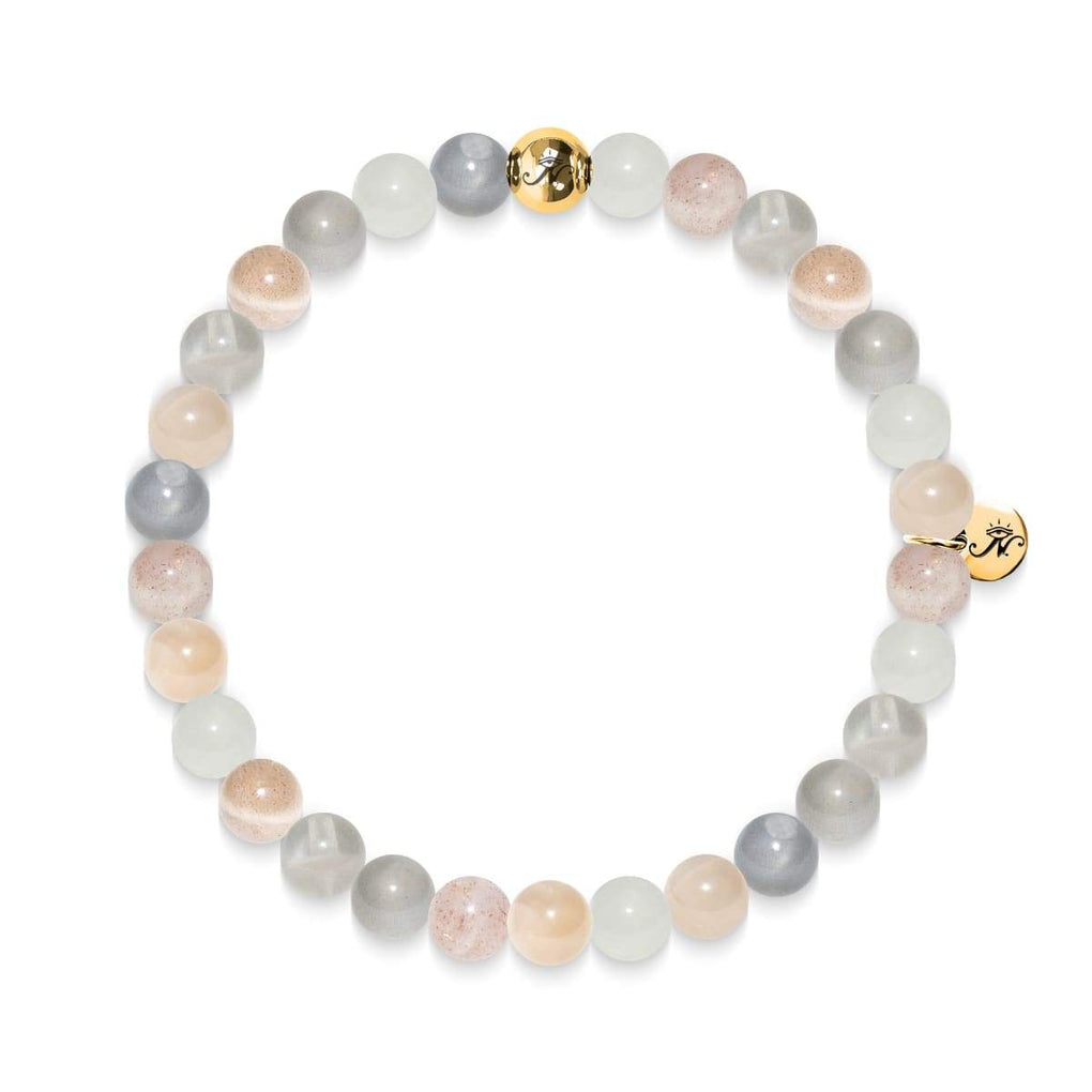 Memory | Gold Essence Sunstone Bracelet