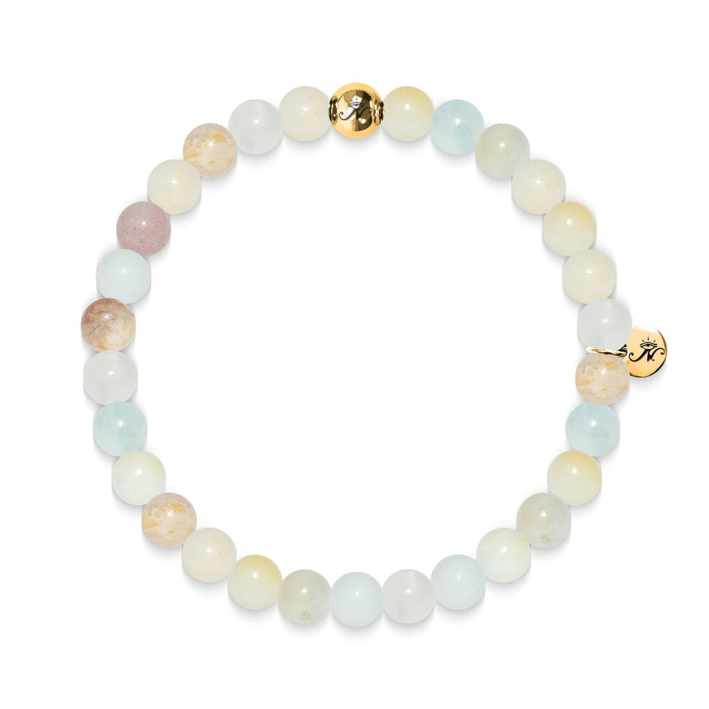 Communication | Gold Essence Amazonite Bracelet
