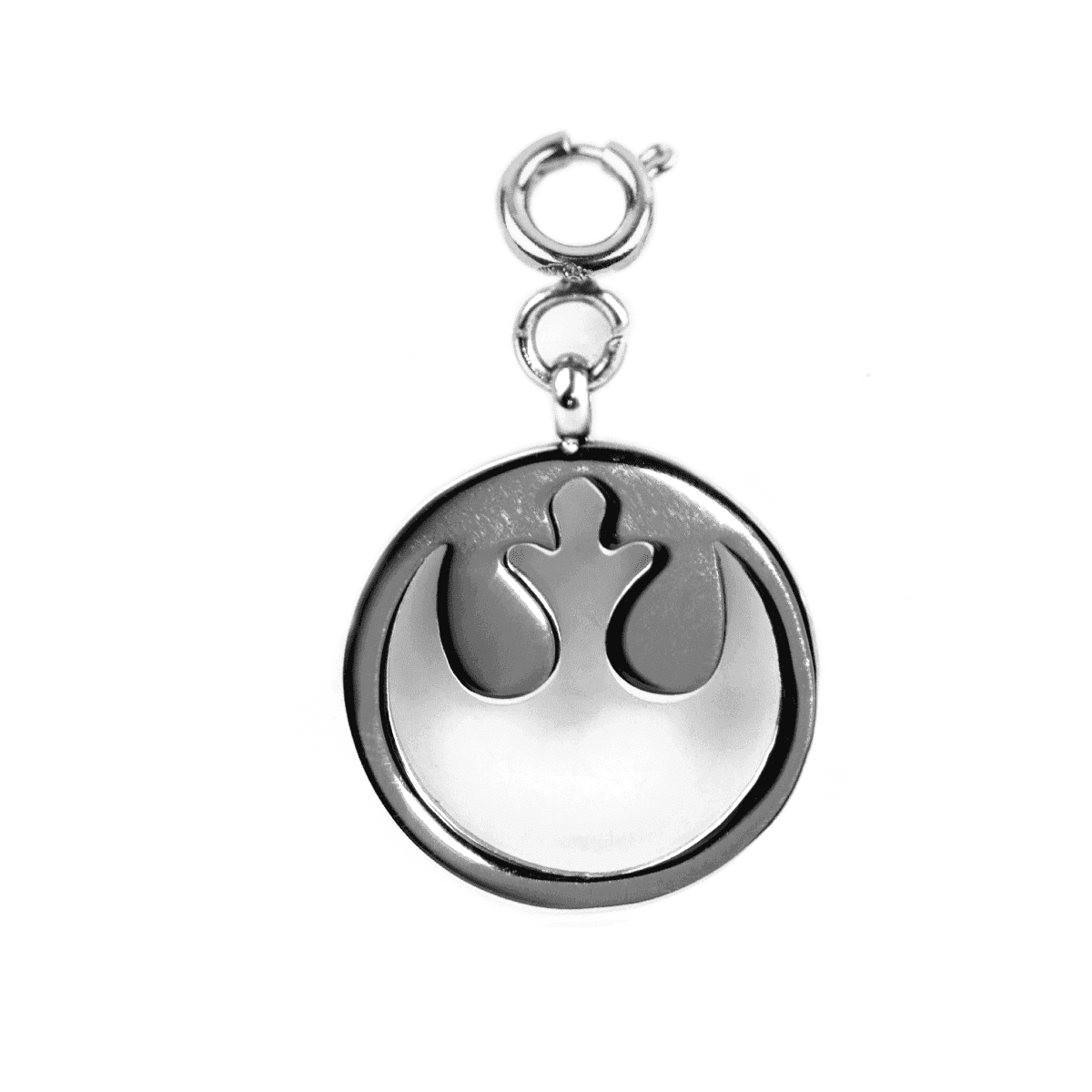 Rebel Alliance - Silver Bracelet Charm Tag