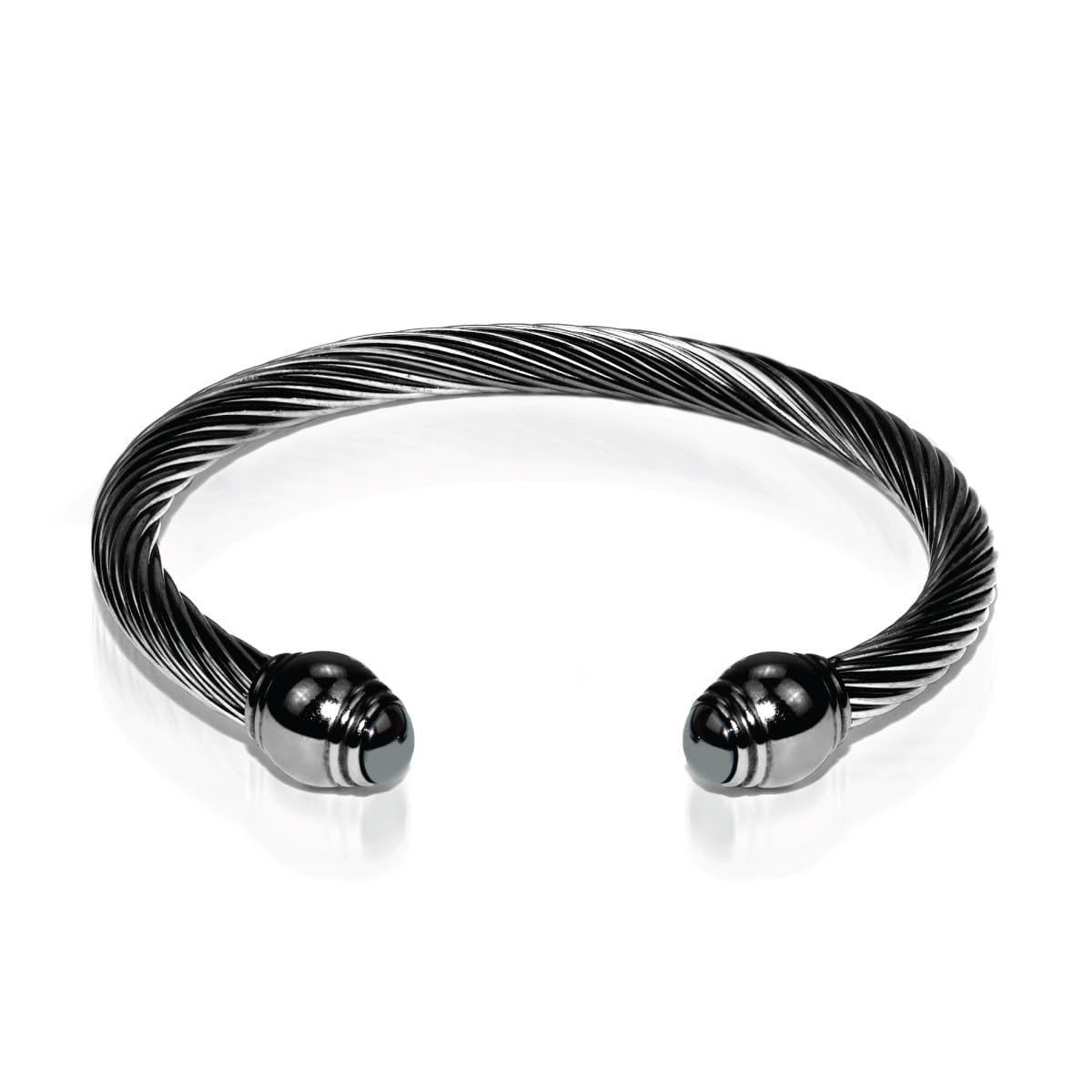 Men's | Gunmetal | Hematite | Bangle