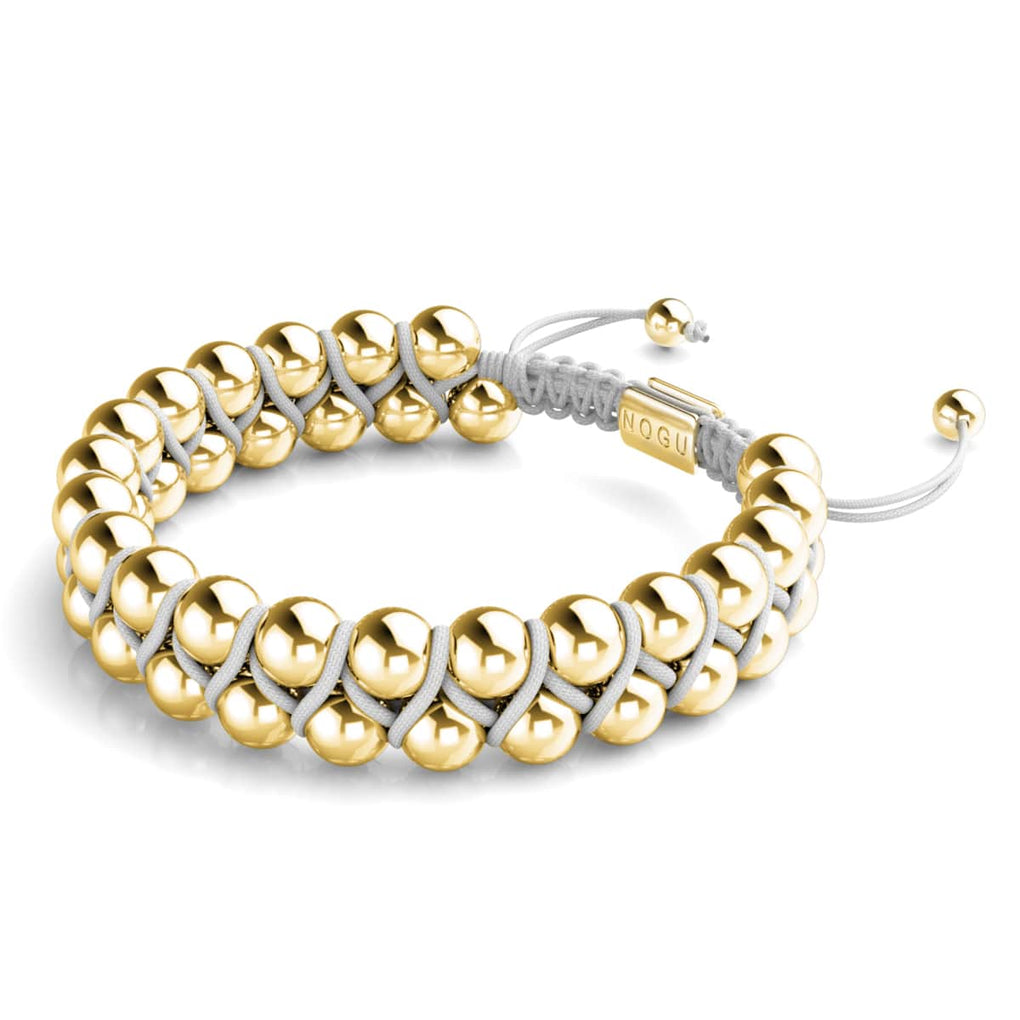 Gold | White | Vitality Bracelet | Men's