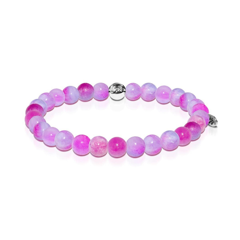 Love | Silver Essence Multi-Colored Jade Bracelet