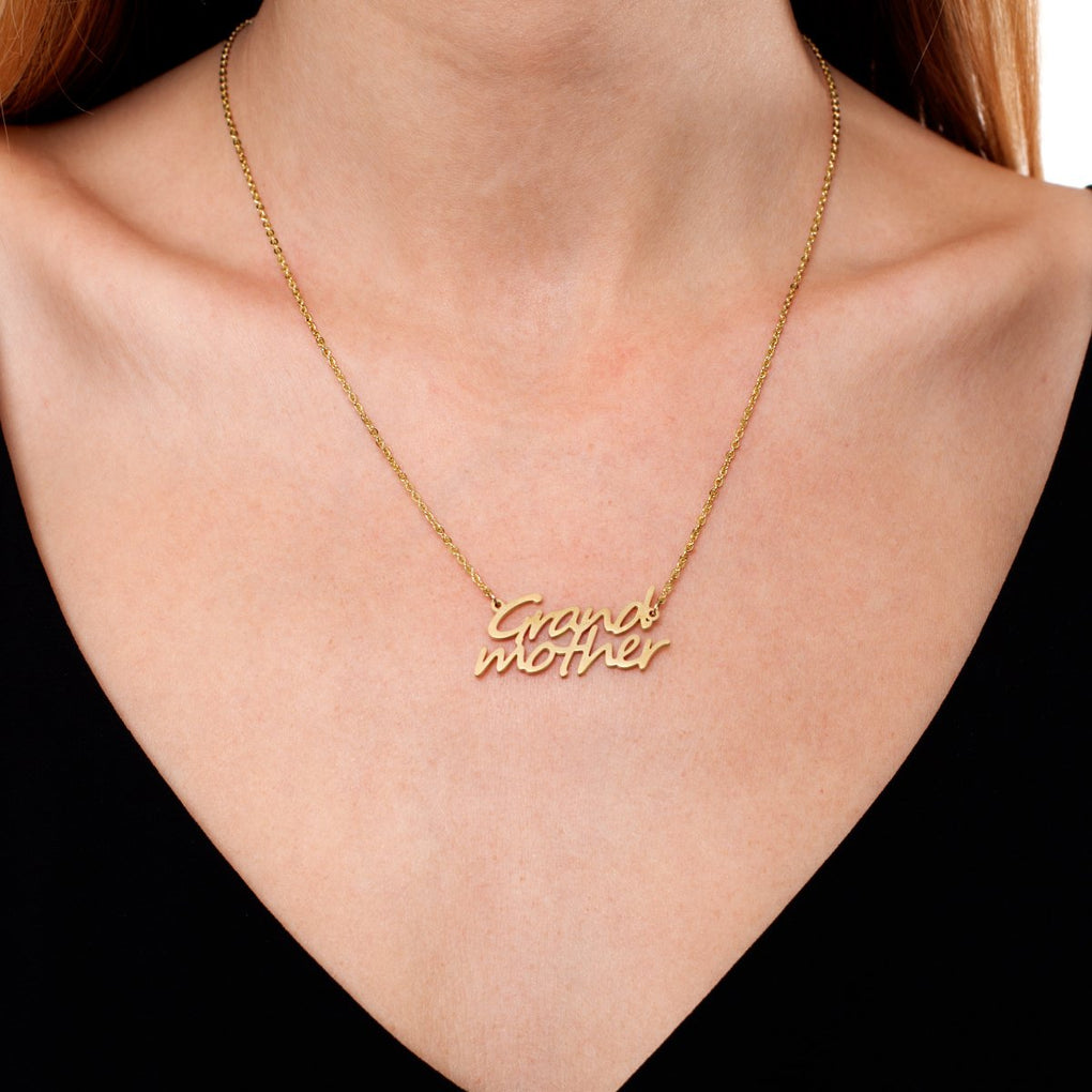 Grandmother | 18k Gold | Necklace